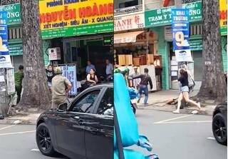 Triệu tập thanh niên đập phá xe BMW sau va chạm giao thông