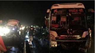 Tin tức tai nạn giao thông ngày 7/10: TNGT xe khách và xe tải, 20 người thương vong