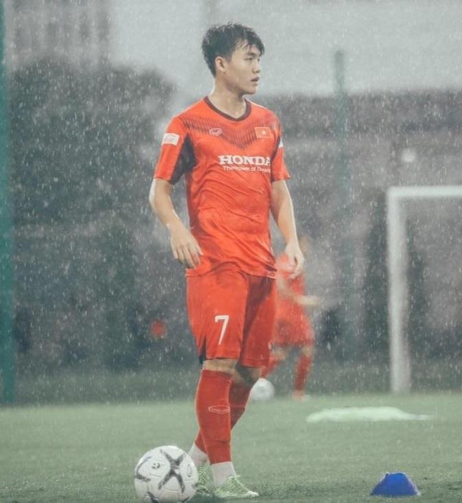 Bộ đôi cầu thủ của HAGL Tiến Đạt Đinh Thanh Bình