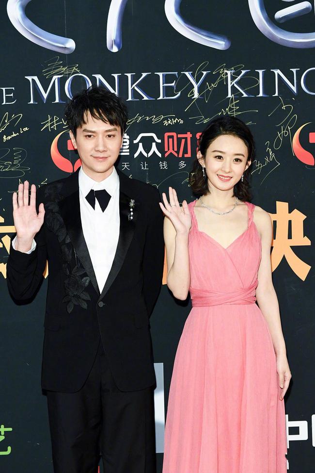 Fan phát hờn trước hành động ngọt ngào của Triệu Lệ Dĩnh trong ngày sinh nhật chồng