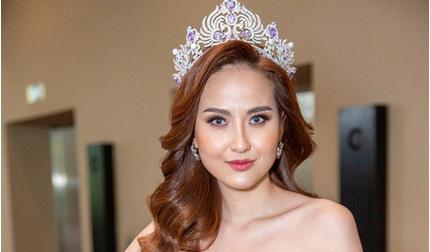 Hoa hậu Khánh Ngân lên tiếng về tin đồn bí mật sinh con cho đại gia
