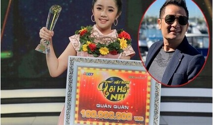 Con gái nuôi ca sĩ Bằng Kiều giành quán quân 'Hãy nghe tôi hát nhí'