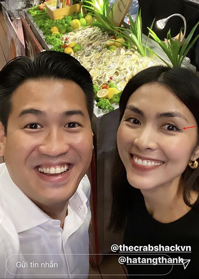 Dù lộ loạt nếp nhăn nhưng Tăng Thanh Hà vẫn xứng danh ngọc nữ màn ảnh Việt