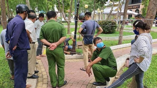 Công an TP Phan Rang Tháp Chàm khám nghiệm hiện trường
