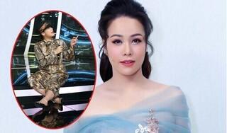 Bị đứt dây chằng, Nhật Kim Anh mang nạng đến tận trường quay