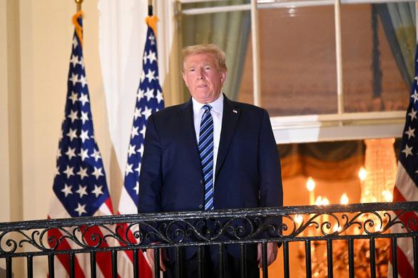Từ 10/10, Tổng thống Donald Trump có thể tham dự các sự kiện công cộng trở lại