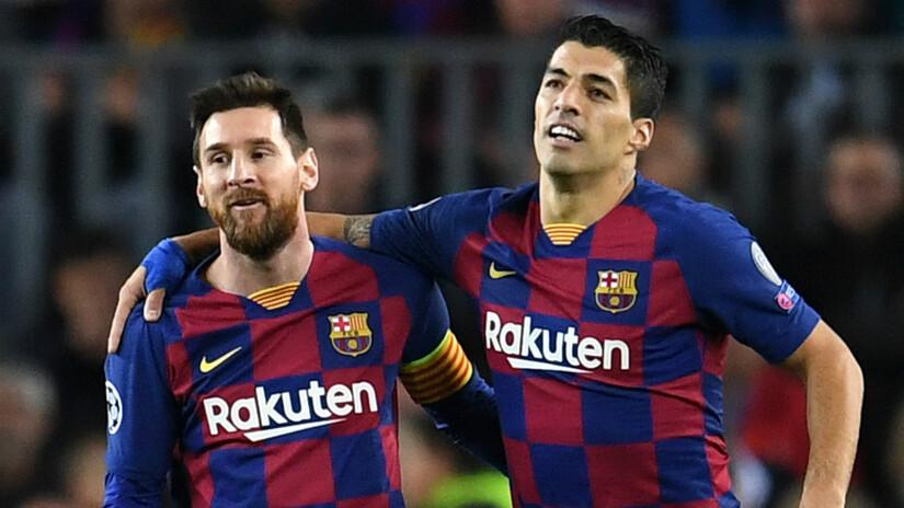 Tiền đạo Suarez đồng cảm với nỗi đau của Messi