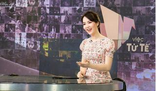 Thực hư thông tin Á hậu Thụy Vân dừng công việc MC ở VTV?