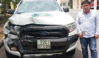 Bắt giữ tài xế ô tô bỏ chạy sau khi tông trọng thương 3 người
