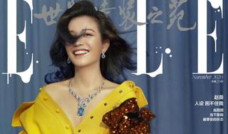 Mặc tin đồn ngoại tình, Triệu Vy khoe nhan sắc rạng rỡ ở tuổi 44 trên bìa tạp chí