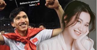Đoàn Văn Hậu ngầm cổ vũ bạn gái tin đồn trong ngày Bán kết HHVN 2020?