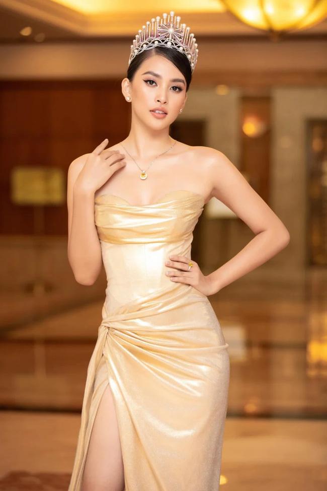 Rộ tin Hoa hậu Tiểu Vy làm đại diện cho nhãn hàng giảm cân có chứa chất cấm