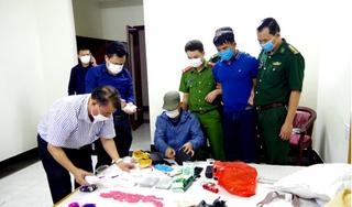Hà Tĩnh: Bắt đối tượng vận chuyển lô ma túy 'khủng' tại nhà nghỉ