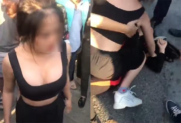 'Tiểu tam' đánh lại 'chính thất' giữa phố Hà Nội chính thức lên tiếng