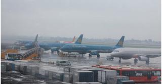 Nhiều chuyến bay đi, đến sân bay miền Trung buộc phải hủy