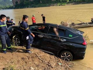 Danh tính 3 người tử vong vụ xe ô tô 7 chỗ lao xuống sông Mã