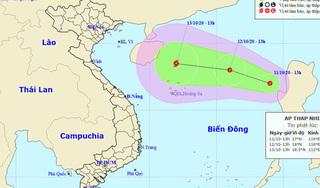 Bão số 6 vừa vào đất liền, Biển Đông lại xuất hiện áp thấp nhiệt đới