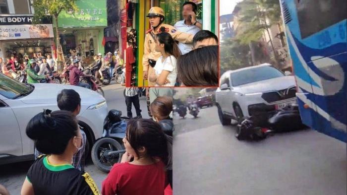 Một số hình ảnh người dân ghi lại cảnh lái xe ô tô VinFast