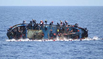 8 phụ nữ, 3 trẻ em thiệt mạng khi đang di chuyển đến châu Âu