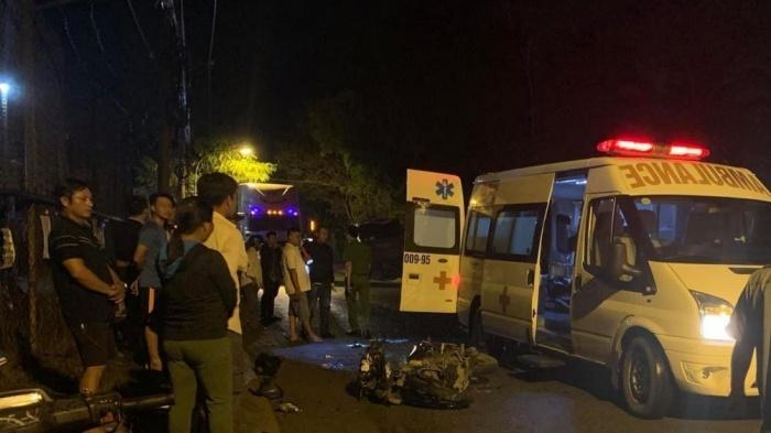 Vụ tai nạn giữa hai xe máy khiến một thanh niên tử vong