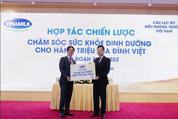 Vinamilk đẩy mạnh hợp tác trong và ngoài nước để chăm sóc sức khỏe cho hàng triệu trẻ em và người cao tuổi Việt Nam