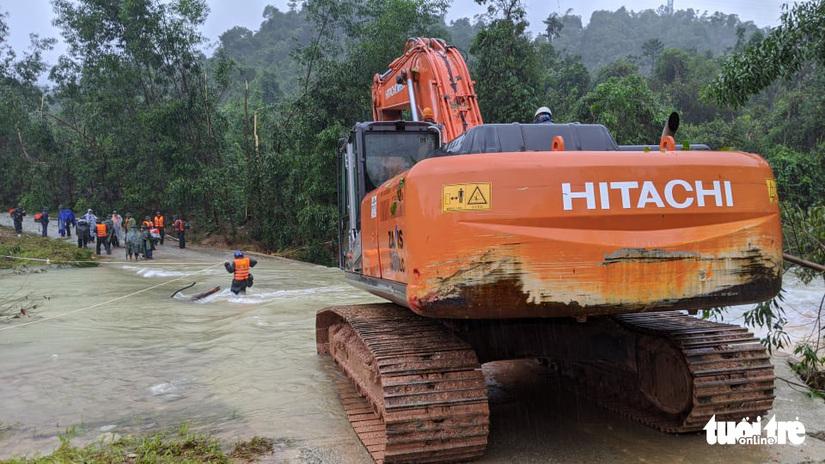 Vụ 10 công nhân thủy điện bị vùi lấp: Thủ tướng chỉ đạo cứu nạn