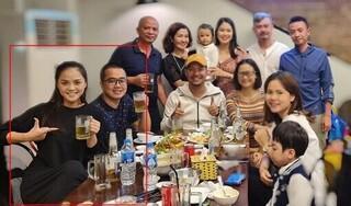 Thu Quỳnh tình cảm bên bạn trai trong tiệc sinh nhật con gái Nguyệt Hằng