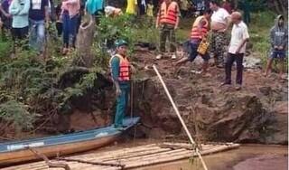 Tìm thấy thi thể 2 người bị nước lũ cuốn trôi khi đi câu cá