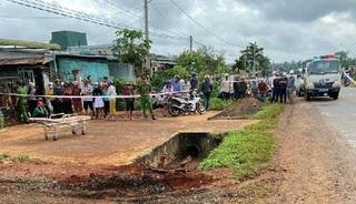 Phát hiện người đàn ông tử vong dưới rãnh sâu ven đường nghi do tai nạn
