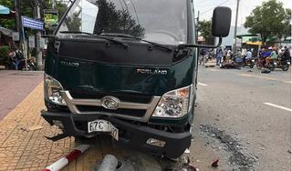 Đâm xe liên hoàn, một người tử vong tại An Giang