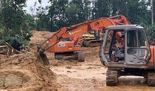 Vụ sạt lở thủy điện Rào Trăng 3: Đất đá vùi 5m tại nơi đoàn cứu hộ gặp nạn