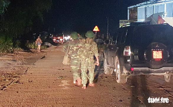 Lực lượng công binh từ Nghệ An vào tìm kiếm 13 cán bộ, chiến sĩ mất tích