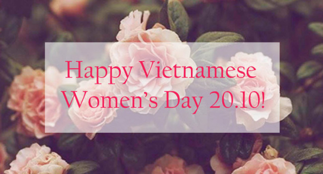happy vietnamese women day 2020
