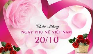 Tổng hợp những lời chúc mừng ngày 20/10 Phụ nữ Việt Nam ngắn gọn ý nghĩa