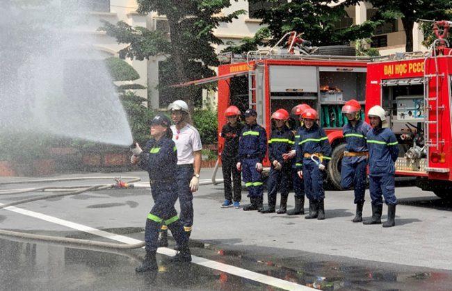 Đại học Phòng cháy chữa cháy tuyển bổ sung hệ ngoài ngành Công an năm 2020