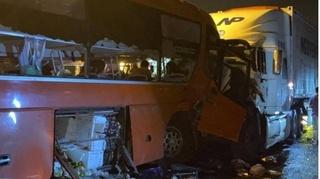 Danh tính 17 nạn nhân bị thương vụ xe khách tông xe đầu kéo ở hầm Hải Vân