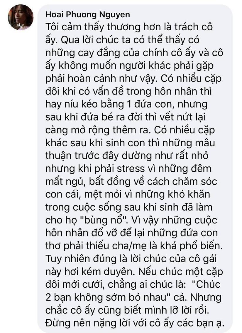 Ông xã Việt Hương lên tiếng về lời chúc kém duyên của vợ cũ Hoài Lâm