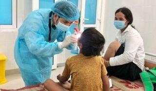 Quảng Ngãi ghi nhận 5 ca bệnh bạch hầu, đều ở huyện miền núi Ba Tơ