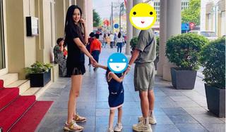 Mai Phương Thúy gây bất ngờ khi dắt tay bé gái bên người đàn ông lạ mặt