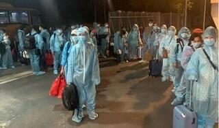 Bình Dương tiếp nhận cách ly 353 người về từ Nhật Bản