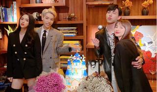 Hương Giang hội ngộ gia đình Hoa dâm bụt mừng sinh nhật Đức Phúc - Erik