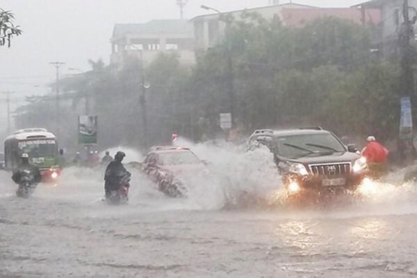 Dự báo miền Trung có mưa to đến rất to trong 5 ngày liên tiếp