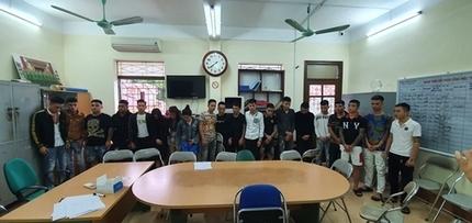 Lào Cai: 20 nam thanh nữ tú tụ tập sử dụng ma túy tại nhà
