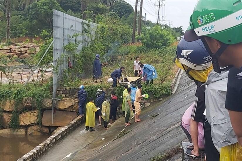 Phát hiện thi thể người đàn ông kẹt trong cống thoát nước ở Phú Quốc