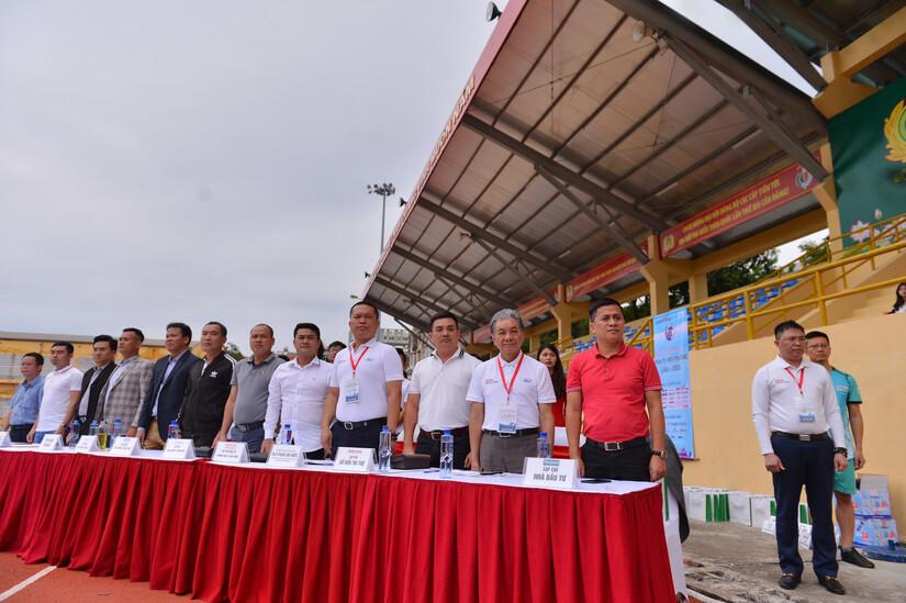 Ấn tượng Lễ khai mạc Giải bóng đá Kinh tế Môi trường lần I-2020