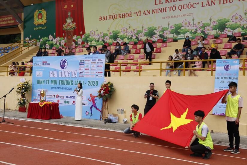 Ấn tượng Lễ khai mạc Giải bóng đá Kinh tế Môi trường lần I-2020.2