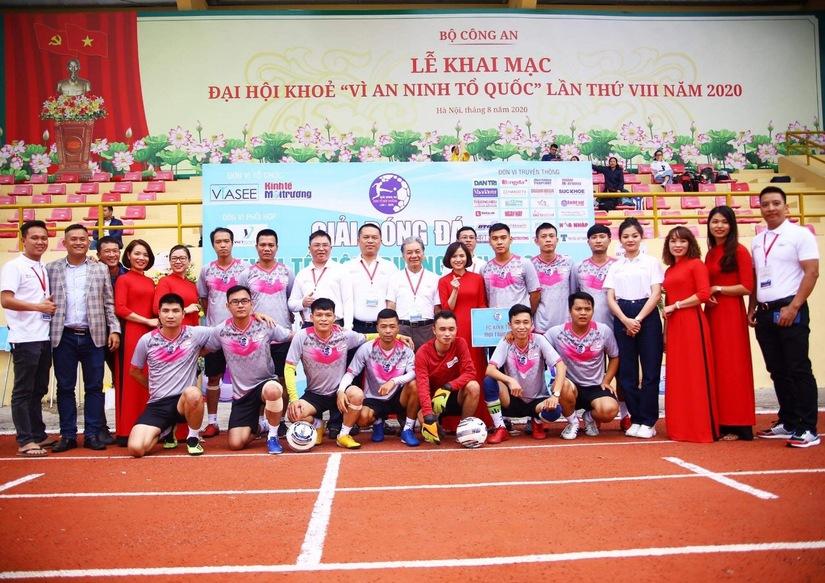 Ấn tượng Lễ khai mạc Giải bóng đá Kinh tế Môi trường lần I-2020.6