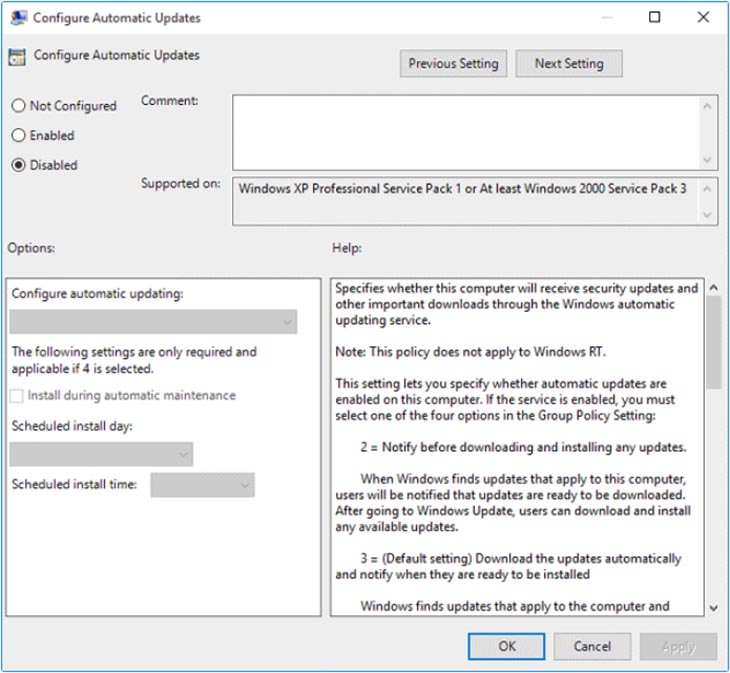 Group Policy Editor 4