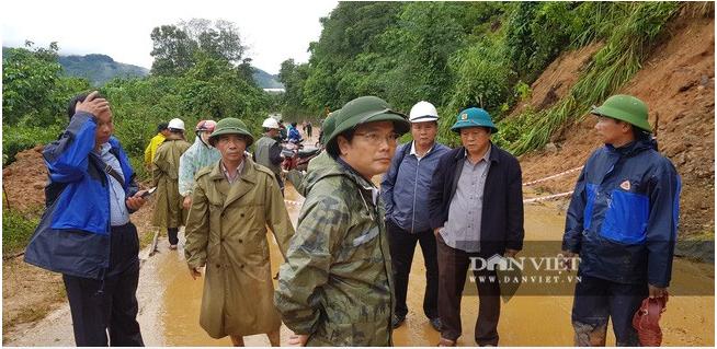 Hiện trường vụ sạt lở ở Quảng Trị, vùi lấp nhiều cán bộ chiến sĩ