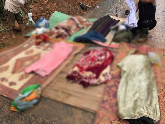 Tìm được 6 thi thể ngôi nhà bị sạt lở ở Quảng Trị: 1 người đang mang thai